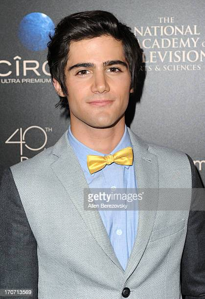 Actress Max Ehrich attends 40th Annual Daytime Entertaimment Emmy Awards Arrivals at The Beverly Hilton Hotel on June 16 2013 in Beverly Hills...