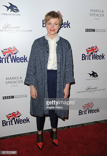 Actress Maxine Peake attends BritWeek's 10th Anniversary VIP Reception Gala at Fairmont Hotel on May 1 2016 in Los Angeles California