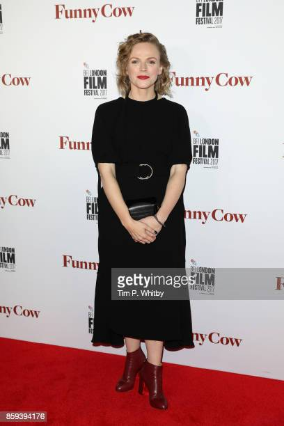 Actress Maxine Peake attends the World Premiere of 'Funny Cow' during the 61st BFI London Film Festival on October 9 2017 in London England