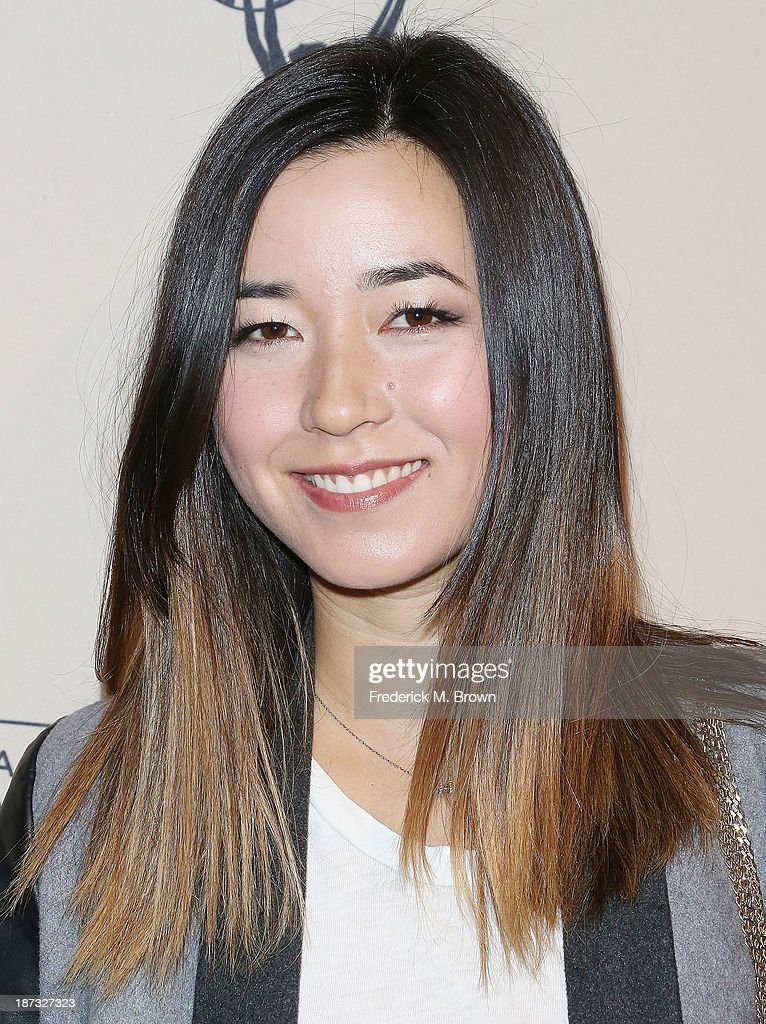 Actress Maya Erskine attends The Television Academy Presents an Evening with Amazon Studios at the Leonard H. Goldenson Theatre on November 7, 2013 in North Hollywood, California.
