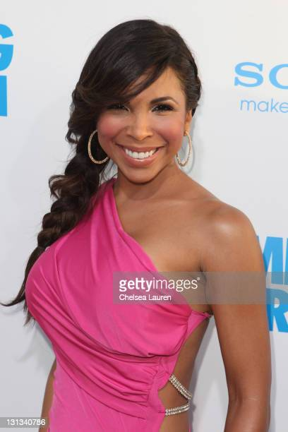 Actress Maya Gilbert arrives at the Los Angeles premiere of 'Jumping The Broom' at ArcLight Cinemas Cinerama Dome on May 4 2011 in Hollywood...