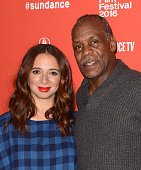 Actress Maya Rudolph and Danny Glover attend the 'Mr Pig' premiere during the 2016 Sundance Film Festival at Eccles Center Theatre on January 26 2016...
