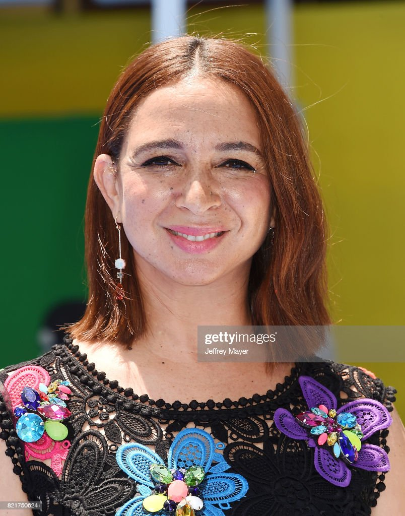 Actress Maya Rudolph arrives at the Premiere Of Columbia Pictures And Sony Pictures Animation's 'The Emoji Movie' at Regency Village Theatre on July 23, 2017 in Westwood, California.
