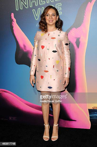 Actress Maya Rudolph arrives at the premiere of 'Inherent Vice' at TCL Chinese Theatre on December 10 2014 in Hollywood California