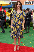 Actress Maya Rudolph arrives at the premiere of Sony Pictures' 'The Angry Birds Movie' at Regency Village Theatre on May 7 2016 in Westwood California