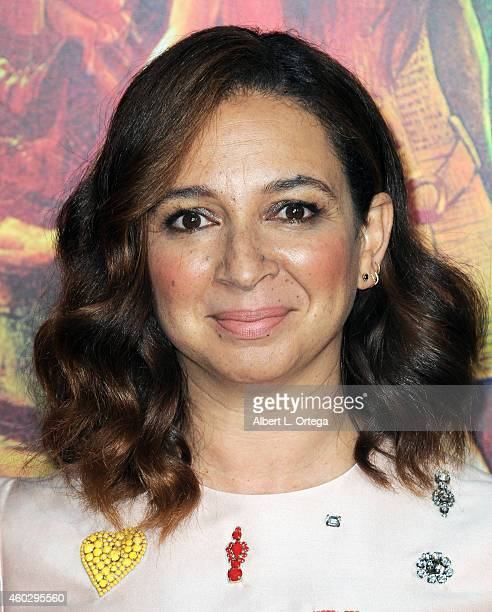 Actress Maya Rudolph arrives for the Premiere Of Warner Bros Pictures' 'Inherent Vice' held at TCL Chinese Theatre on December 10 2014 in Hollywood...