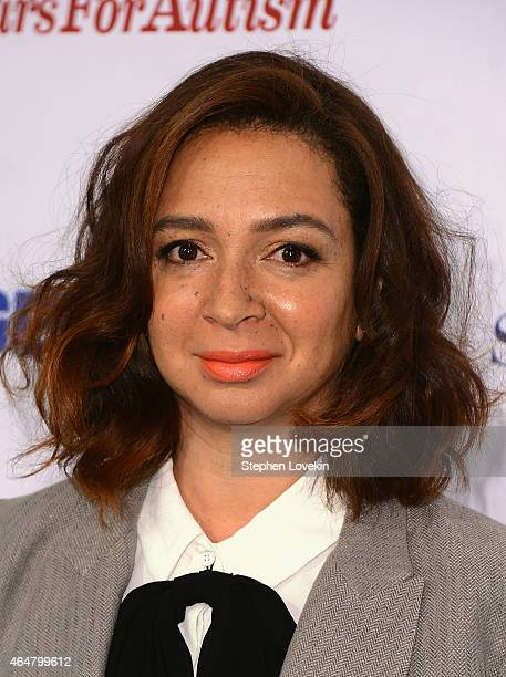 Actress Maya Rudolph attends Comedy Central Night Of Too Many Stars at Beacon Theatre on February 28 2015 in New York City