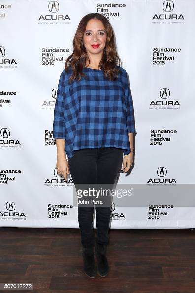 Actress Maya Rudolph attends the 'Mr Pig' Premiere Party At The Acura Studio At Sundance Film Festival 2016 2016 Park City on January 26 2016 in Park...