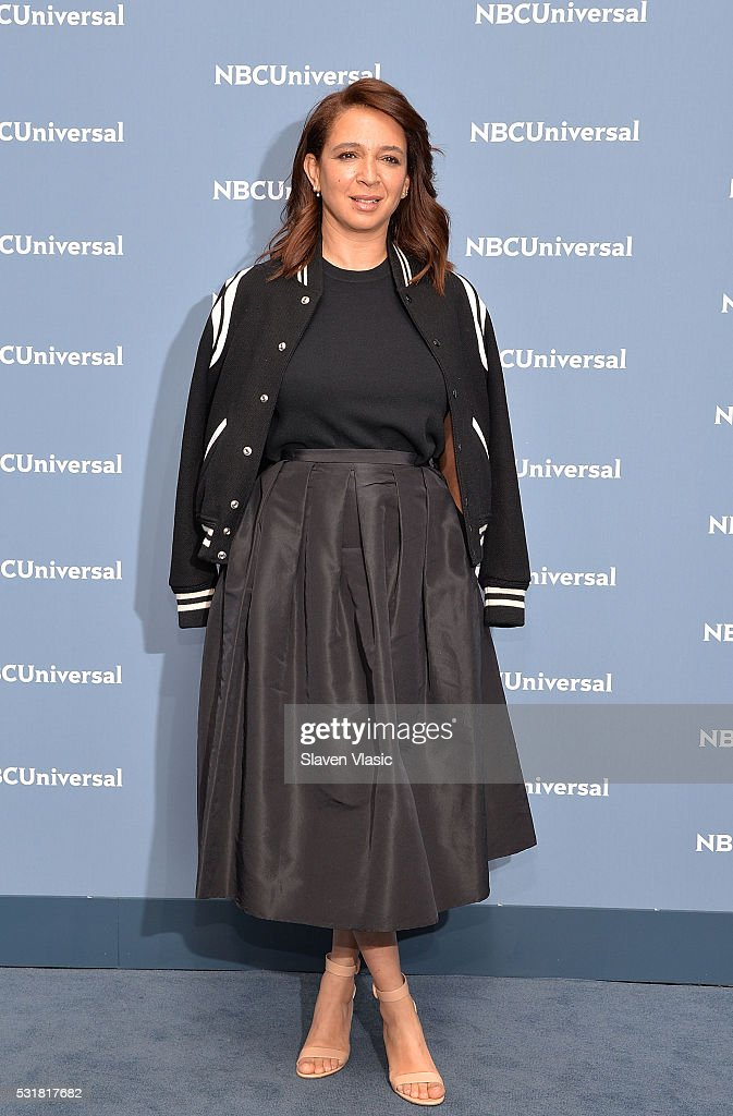 Actress Maya Rudolph attends the NBCUniversal 2016 Upfront Presentation on May 16, 2016 in New York, New York.