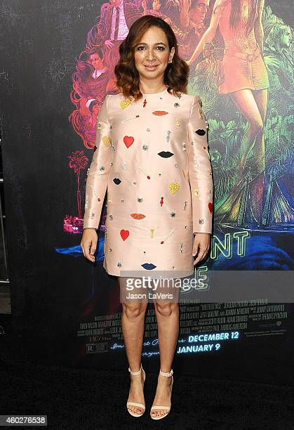 Actress Maya Rudolph attends the premiere of 'Inherent Vice' at TCL Chinese Theatre on December 10 2014 in Hollywood California