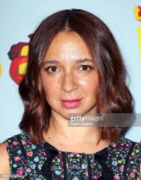 Actress Maya Rudolph attends the premiere of Open Road Films' 'The Nut Job 2 Nutty by Nature' at Regal Cinemas LA Live on August 5 2017 in Los...