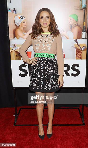Actress Maya Rudolph attends the 'Sisters' New York premiere at Ziegfeld Theater on December 8 2015 in New York City