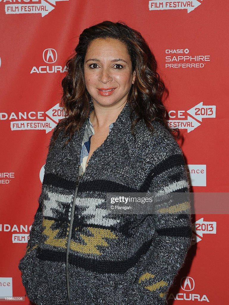 Actress Maya Rudolph attends the 'The Way, Way Back' premiere at Eccles Center Theatre during the 2013 Sundance Film Festival on January 21, 2013 in Park City, Utah.
