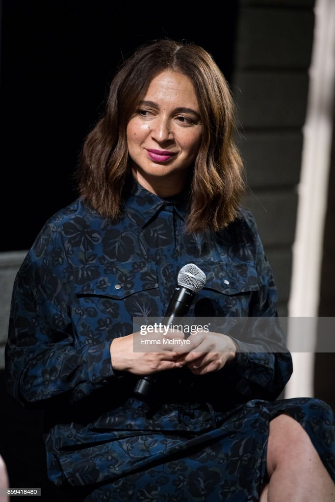 Actress Maya Rudolph attends 'Women Under the Influence hosts a special screening of Natasha Lyonne's directorial debut for Kenzo with director Natasha Lyonne and star Maya Rudolph in conversation at Neuehouse with Yola Mescal tasting' on October 7, 2017 in Los Angeles, California.