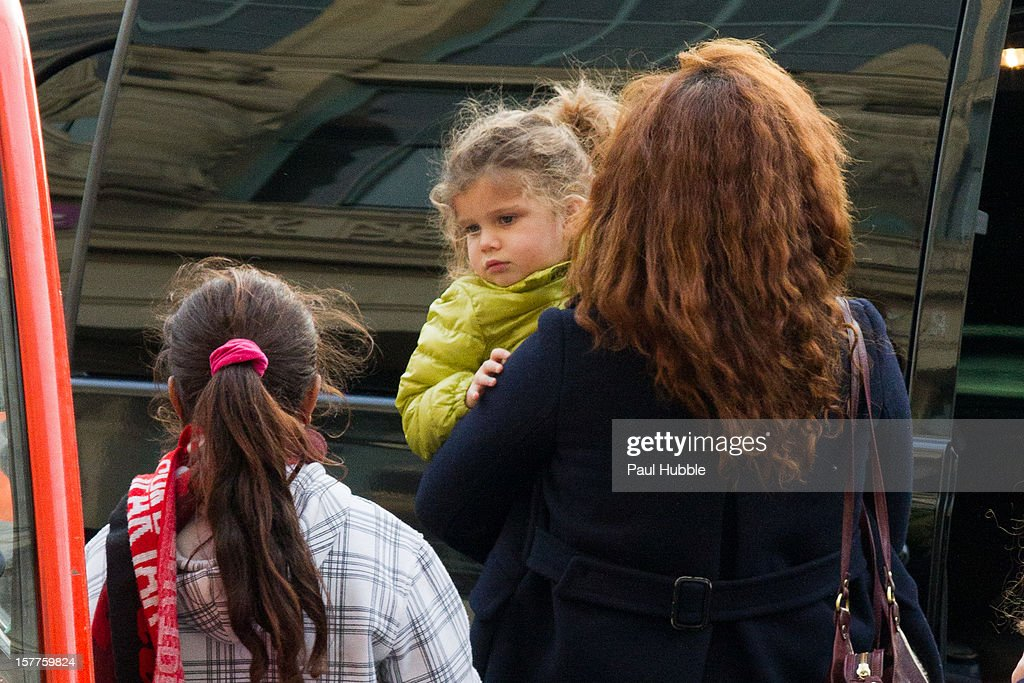 Actress <a gi-track='captionPersonalityLinkClicked' href=/galleries/search?phrase=Maya+Rudolph&family=editorial&specificpeople=857236 ng-click='$event.stopPropagation()'>Maya Rudolph</a> is sighted arriving at the 'Gare du Nord' train station on December 6, 2012 in Paris, France.