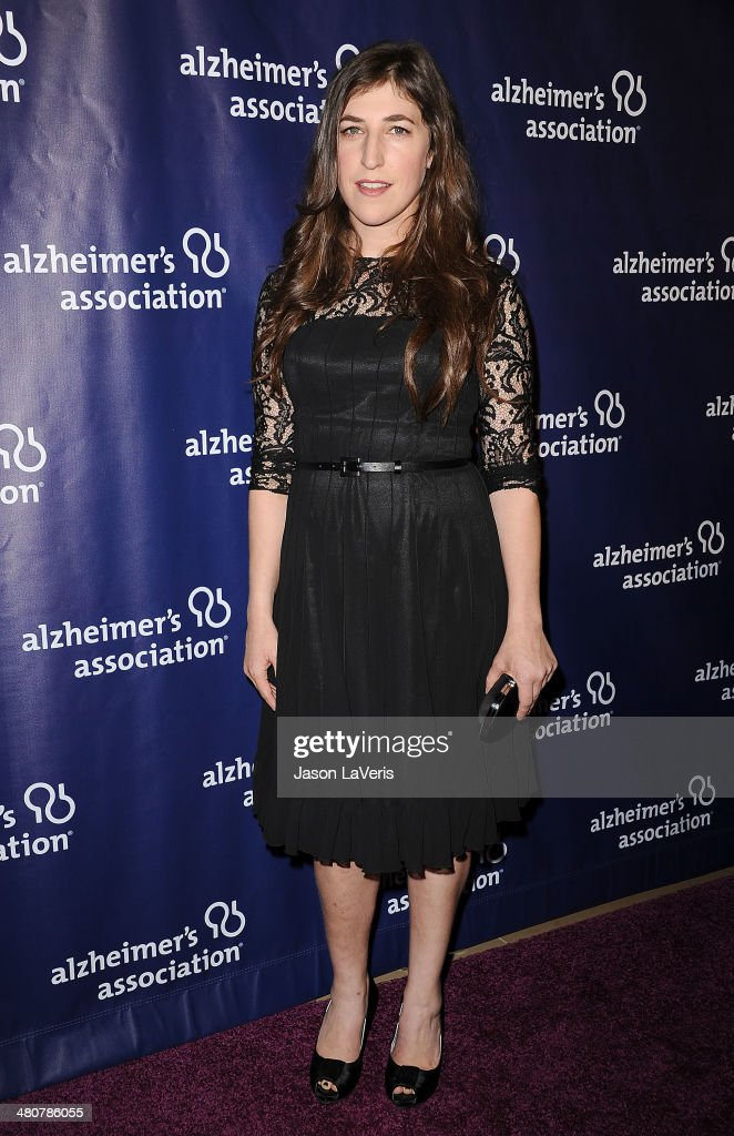 Actress Mayim Bialik attends the 22nd 'A Night At Sardi's' at The Beverly Hilton Hotel on March 26, 2014 in Beverly Hills, California.