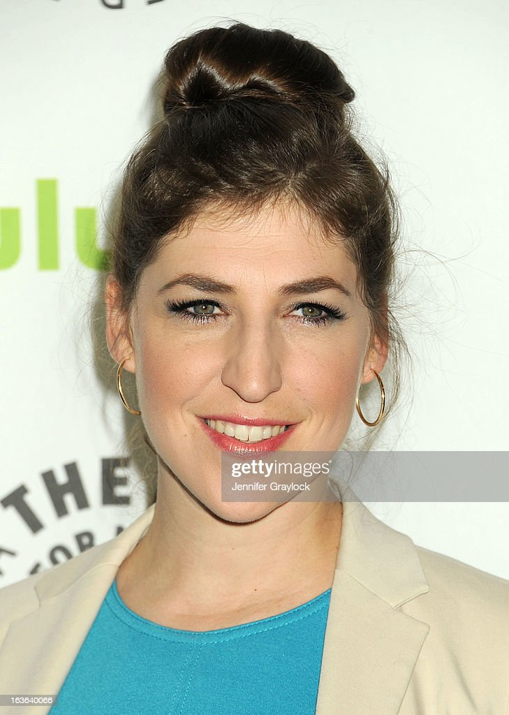 Actress Mayim Bialik attends the 30th Annual PaleyFest: The William S. Paley Television Festival honors The Big Bang Theory held at Saban Theatre on March 13, 2013 in Beverly Hills, California.