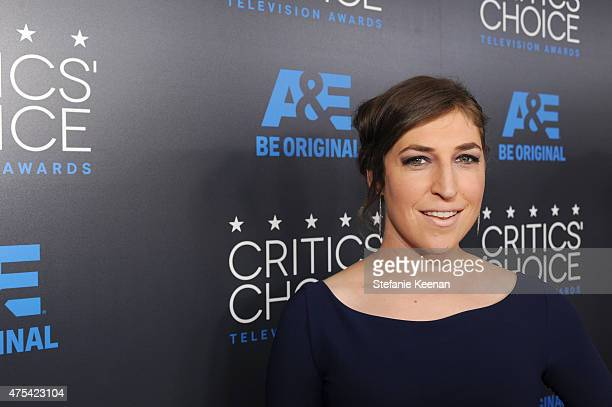 Actress Mayim Bialik attends the 5th Annual Critics' Choice Television Awards at The Beverly Hilton Hotel on May 31 2015 in Beverly Hills California