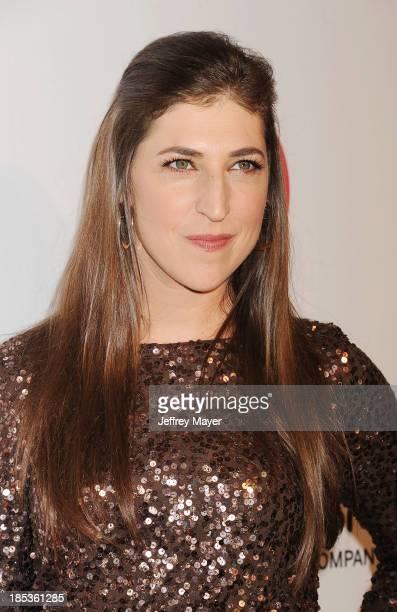 Actress Mayim Bialik attends the 9th Annual GLSEN Respect Awards held at the Beverly Hills Hotel on October 18 2013 in Beverly Hills California