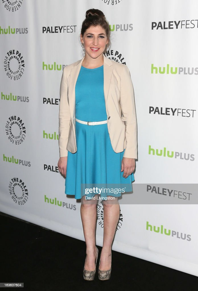 Actress Mayim Bialik attends The Paley Center For Media's PaleyFest 2013 honoring 'The Big Bang Theory' at the Saban Theatre on March 13, 2013 in Beverly Hills, California.