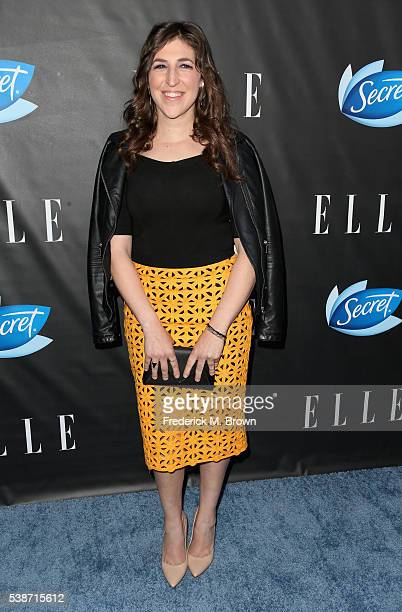 Actress Mayim Bialik attends the Women In Comedy event with July cover stars Leslie Jones Melissa McCarthy Kate McKinnon and Kristen Wiig hosted by...