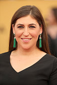 Actress Mayim Bialik attends TNT's 21st Annual Screen Actors Guild Awards at The Shrine Auditorium on January 25 2015 in Los Angeles California...