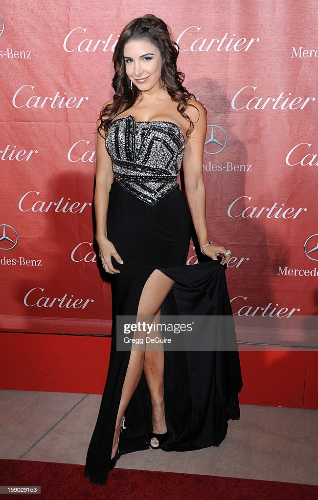 Actress Mayra Veronica arrives at the 24th Annual Palm Springs International Film Festival Awards Gala at Palm Springs Convention Center on January 5, 2013 in Palm Springs, California.