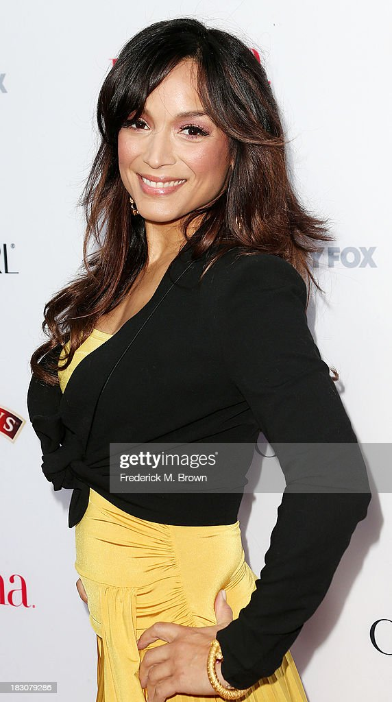 Actress <a gi-track='captionPersonalityLinkClicked' href=/galleries/search?phrase=Mayte+Garcia&family=editorial&specificpeople=797179 ng-click='$event.stopPropagation()'>Mayte Garcia</a> attends Latina Magazine's 'Hollywood Hot List' Party at The Redbury Hotel on October 3, 2013 in Hollywood, California.