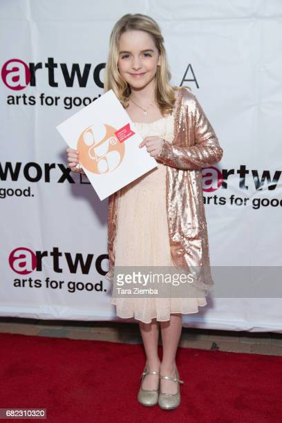 Actress Mckenna Grace attends ARTWORXLA's 25th Anniversary Gala 'An Evening Of Art' at Taglyan Cultural Complex on May 11 2017 in Hollywood California