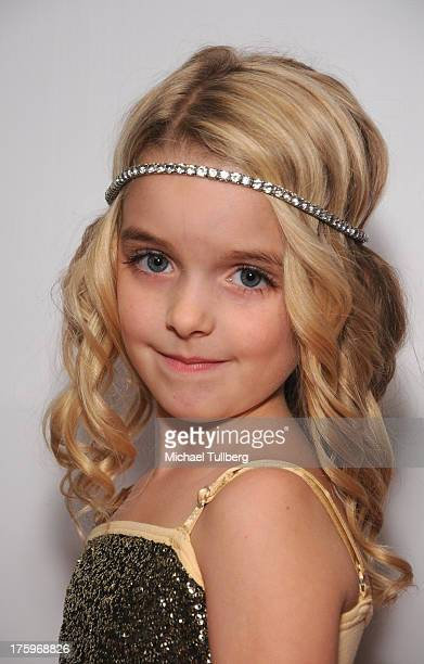Actress McKenna Grace attends the 2013 No Bull Teen Video Awards at Westin LAX Hotel on August 10 2013 in Los Angeles California