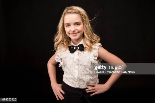 Actress Mckenna Grace photographed for NY Daily News on April 7 in New York City