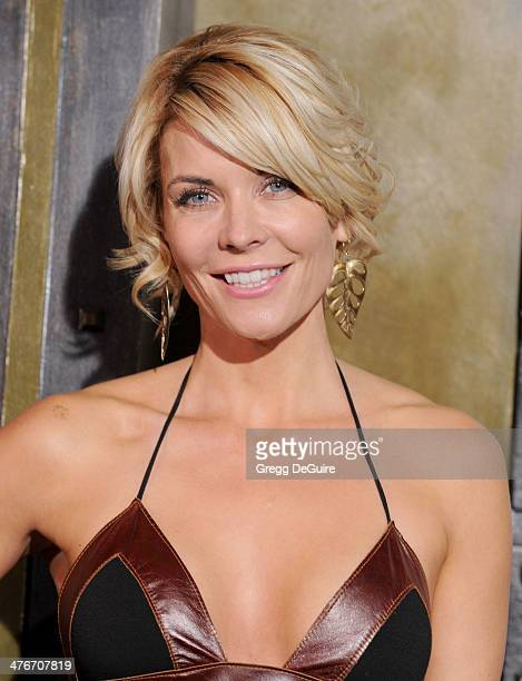 Actress McKenzie Westmore arrives at the '300 Rise Of An Empire' Los Angeles premiere at TCL Chinese Theatre on March 4 2014 in Hollywood California