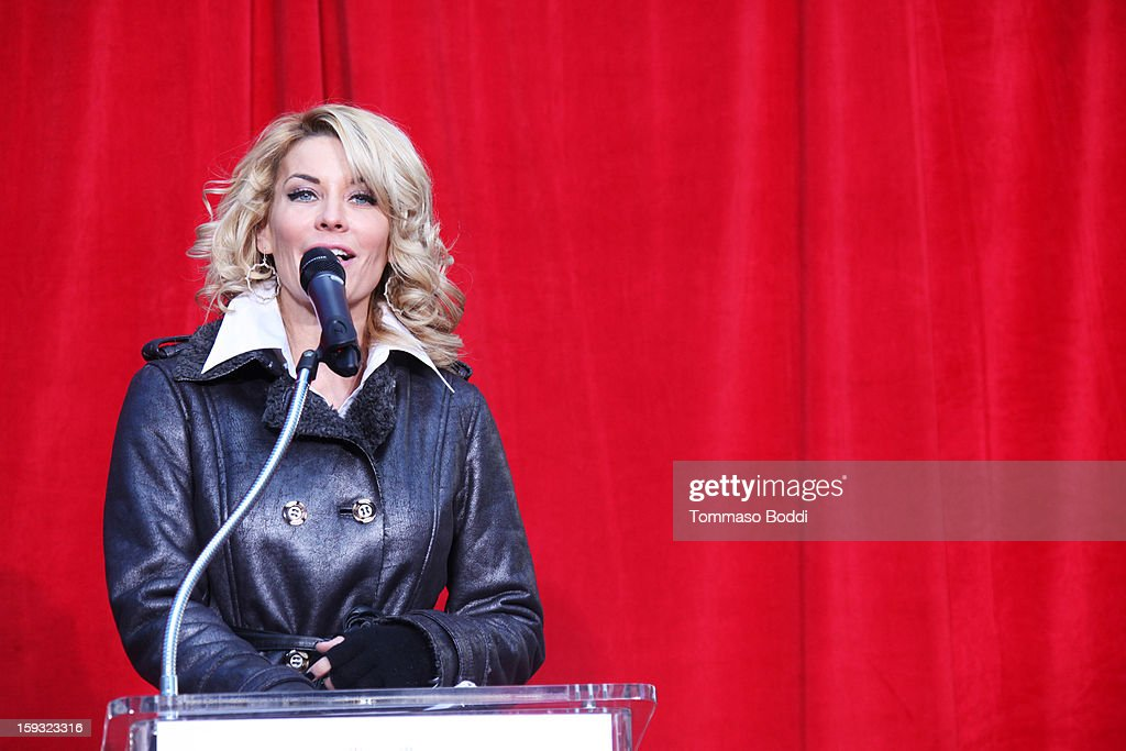 Actress <a gi-track='captionPersonalityLinkClicked' href=/galleries/search?phrase=McKenzie+Westmore&family=editorial&specificpeople=182442 ng-click='$event.stopPropagation()'>McKenzie Westmore</a> attends a press conference announcing the renaming of Grauman's Chinese Theatre to the TCL Chinese Theatre held at the Chinese Theatre on January 11, 2013 in Hollywood, California.