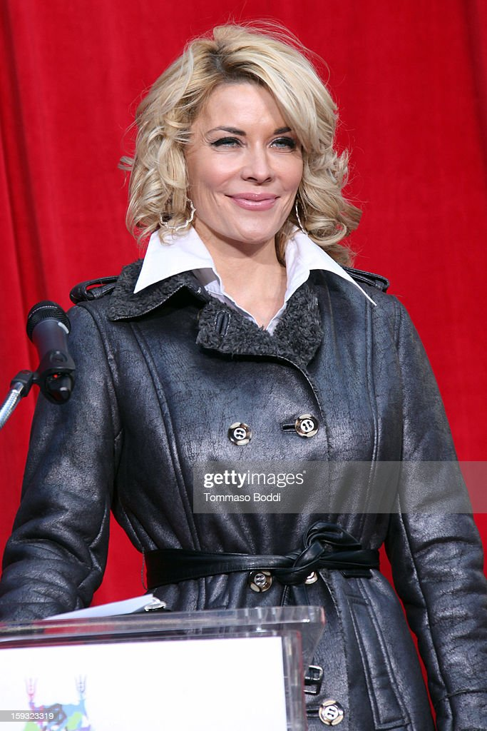 Actress McKenzie Westmore attends a press conference announcing the renaming of Grauman's Chinese Theatre to the TCL Chinese Theatre held at the Chinese Theatre on January 11, 2013 in Hollywood, California.