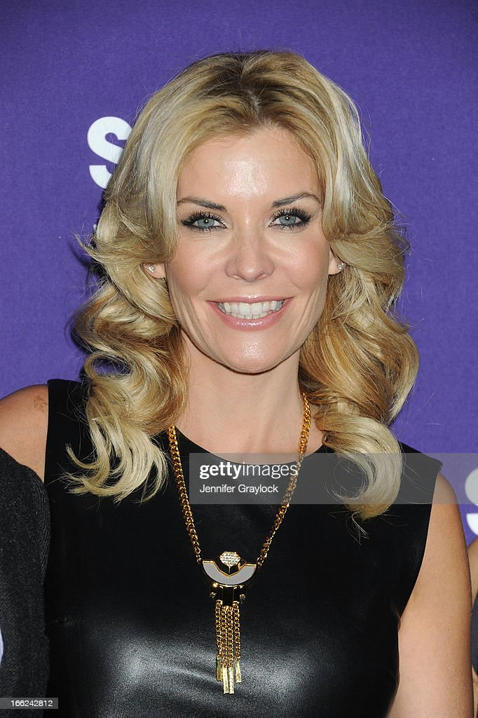 Actress Mckenzie Westmore attends the Syfy 2013 Upfront at Silver Screen Studios at Chelsea Piers on April 10, 2013 in New York City.