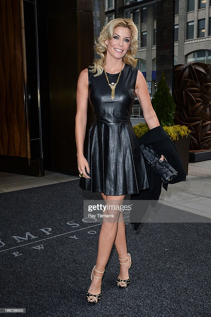 Actress McKenzie Westmore leaves her Soho hotel on April 10, 2013 in New York City.