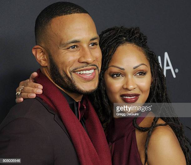Actress Meagan Good and DeVon Franklin arrive at the 2016 InStyle And Warner Bros 73rd Annual Golden Globe Awards PostParty at The Beverly Hilton...