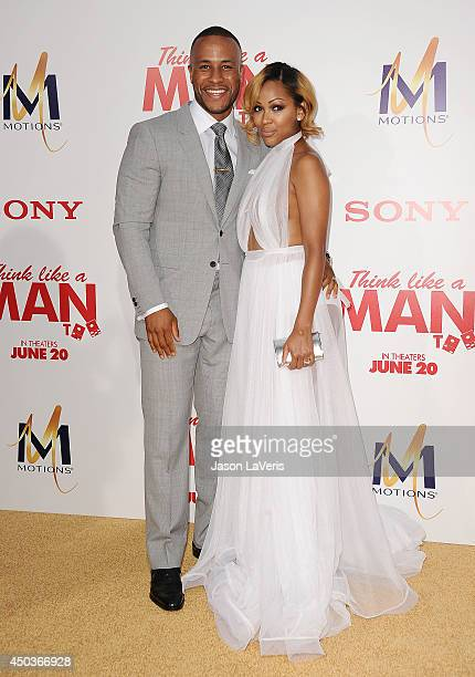 Actress Meagan Good and husband DeVon Franklin attend the premiere of 'Think Like A Man Too' at TCL Chinese Theatre on June 9 2014 in Hollywood...