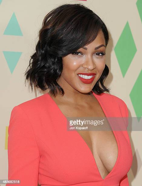 Actress Meagan Good arrives at the 2015 Summer TCA Tour FOX AllStar Party at Soho House on August 6 2015 in West Hollywood California