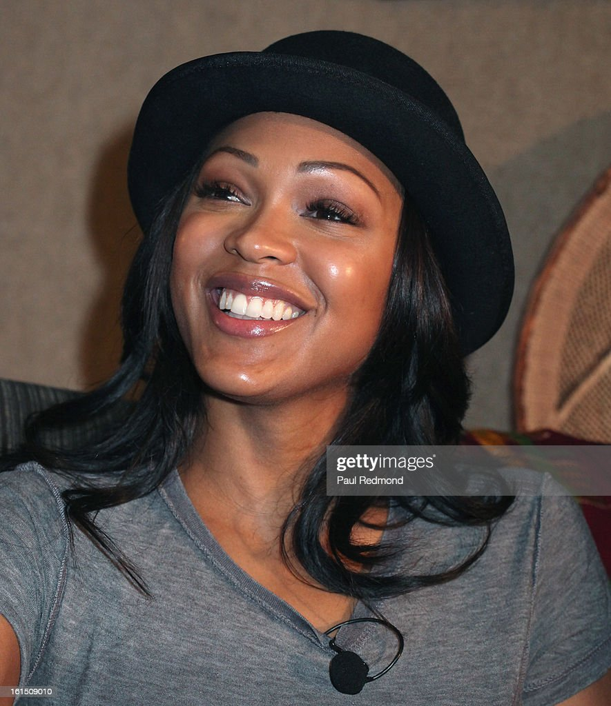 Actress Meagan Good attends 21st Annual Pan African Film Festival 'Double Header' Closing Night at Rave Cinemas on February 11, 2013 in Los Angeles, California.