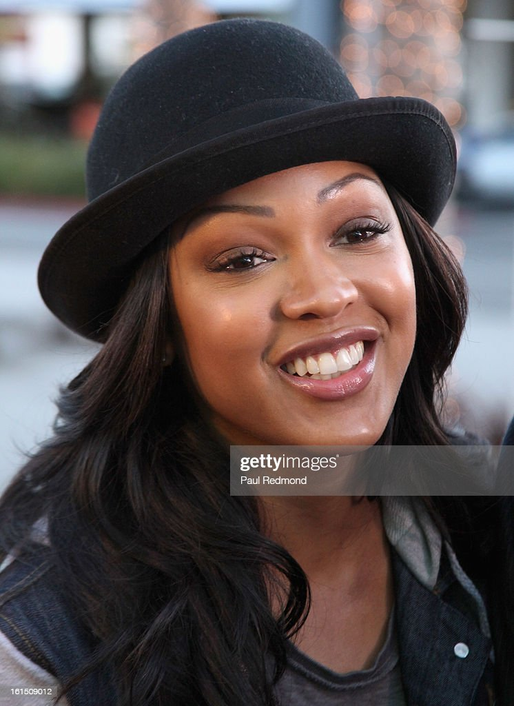 Actress <a gi-track='captionPersonalityLinkClicked' href=/galleries/search?phrase=Meagan+Good&family=editorial&specificpeople=171680 ng-click='$event.stopPropagation()'>Meagan Good</a> attends 21st Annual Pan African Film Festival 'Double Header' Closing Night at Rave Cinemas on February 11, 2013 in Los Angeles, California.