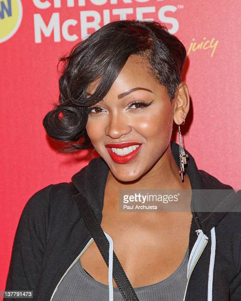 Actress Meagan Good attends McDonald's new chicken McBites launch party at Siren Studios on January 26 2012 in Hollywood California