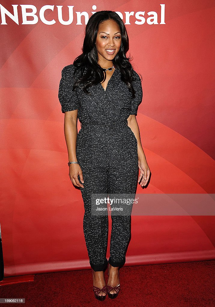 Actress Meagan Good attends the 2013 NBC TCA Winter Press Tour at The Langham Huntington Hotel and Spa on January 6, 2013 in Pasadena, California.