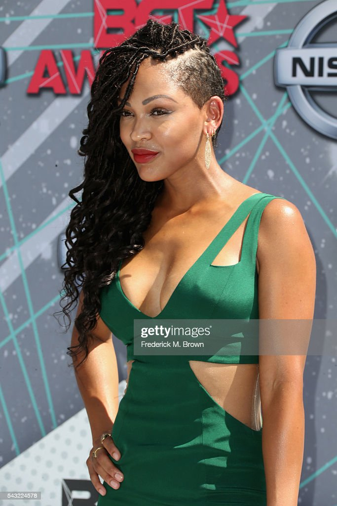 Actress Meagan Good attends the 2016 BET Awards at the Microsoft Theater on June 26, 2016 in Los Angeles, California.