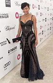 Actress Meagan Good attends the 23rd Annual Elton John AIDS Foundation Academy Awards viewing party with Chopard on February 22 2015 in Los Angeles...