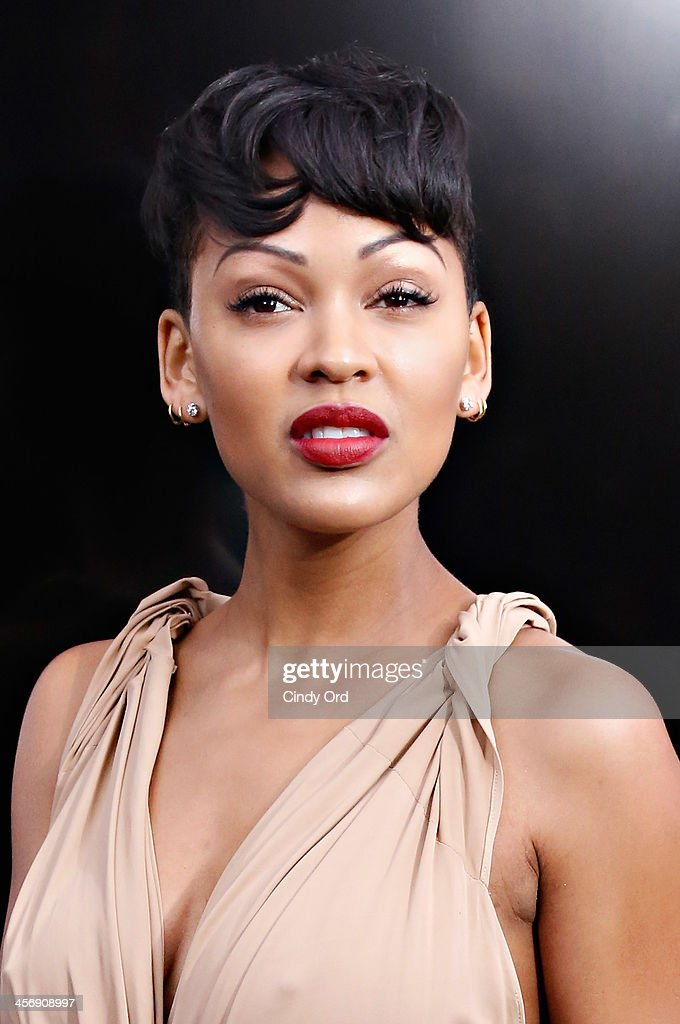 Actress Meagan Good attends the Anchorman 2: The Legend Continues Premiere, Sponsored by Buffalo David Bitton on December 15, 2013 in New York City.