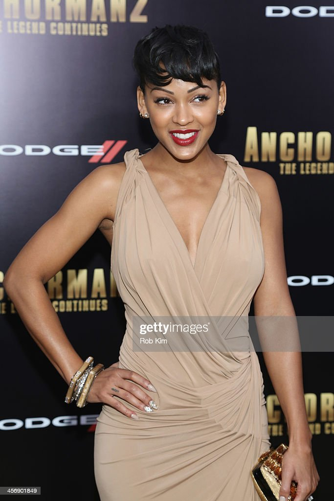 Actress Meagan Good attends the 'Anchorman 2: The Legend Continues' U.S. premiere at Beacon Theatre on December 15, 2013 in New York City.