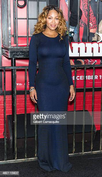 Actress Meagan Good attends the 'Annie' world premiere at Ziegfeld Theater on December 7 2014 in New York City