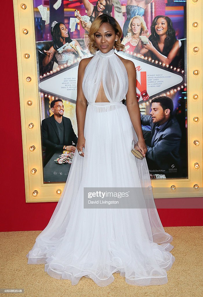 Actress <a gi-track='captionPersonalityLinkClicked' href=/galleries/search?phrase=Meagan+Good&family=editorial&specificpeople=171680 ng-click='$event.stopPropagation()'>Meagan Good</a> attends the premiere of Screen Gems' 'Think Like a Man Too' at the TCL Chinese Theatre on June 9, 2014 in Hollywood, California.