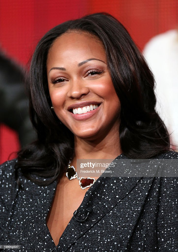 Actress Meagan Good speaks onstage at the 'Deception' panel session during the NBCUniversal portion of the 2013 Winter TCA Tour- Day 3 at the Langham Hotel on January 6, 2013 in Pasadena, California.